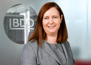 Teresa Morahan, Partner & Head of Audit at BDO in Dublin